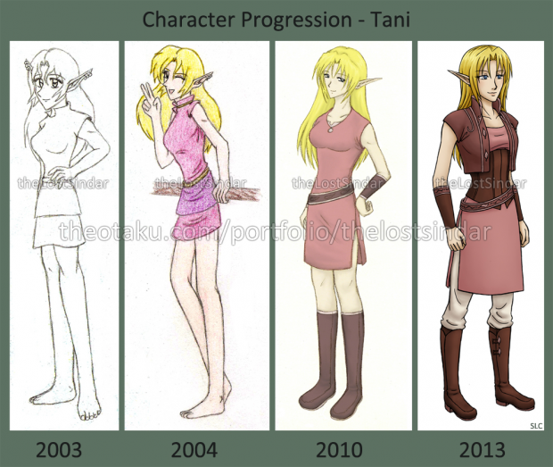 Character Progression - Tani