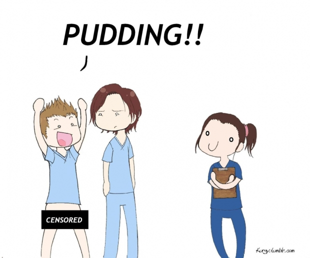 PUDDING!!