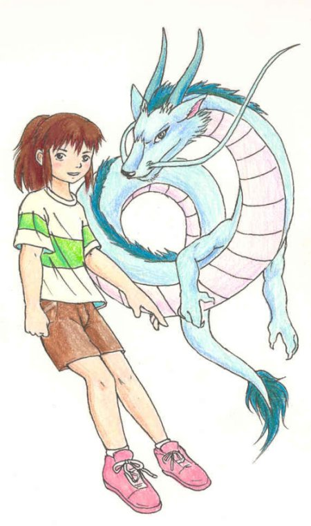 Chihiro And Haku