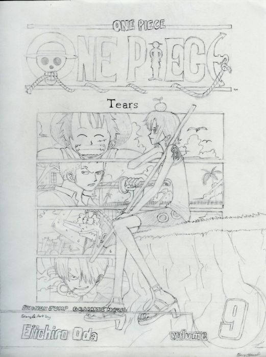 Cover Of One Piece Volume 9
