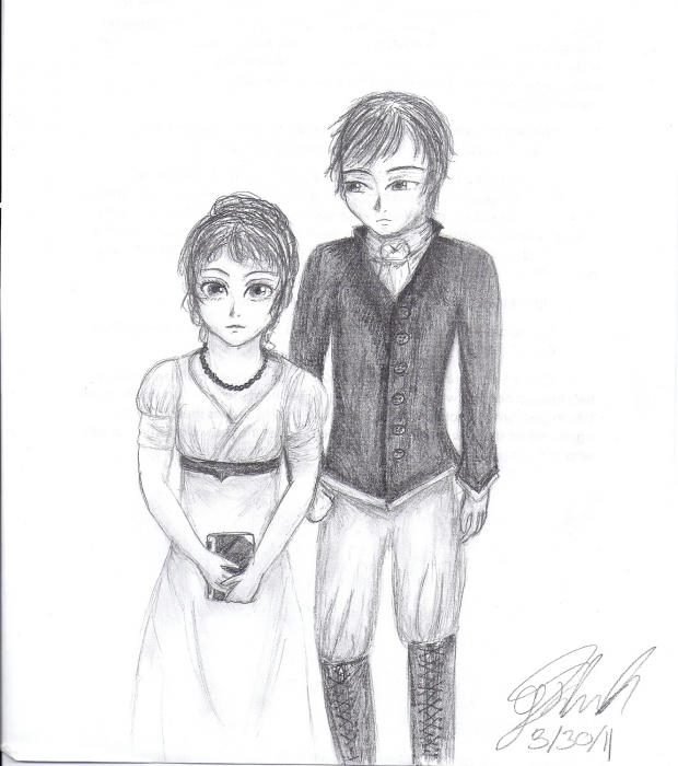 Pride and Prejudice: Elizabeth Bennet and Mr.Darcy