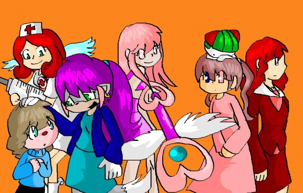 all meh charaters! :O