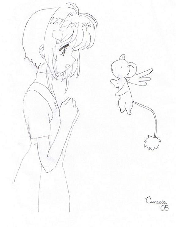 Sakura And Kero