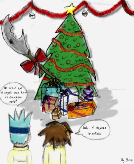 X-mas Shaman king interchange