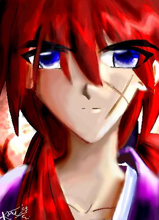 Super-Shaded Kenshin