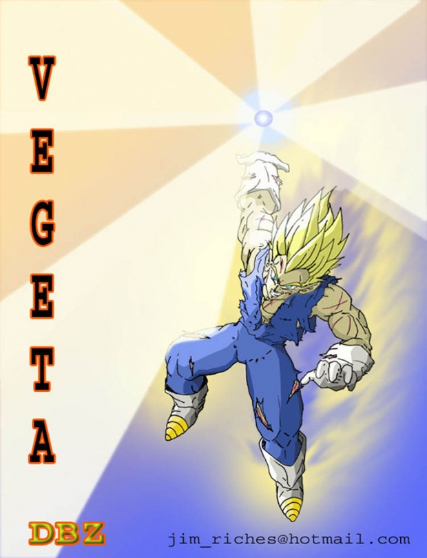 SSJ 2 Vegeta Final Attack