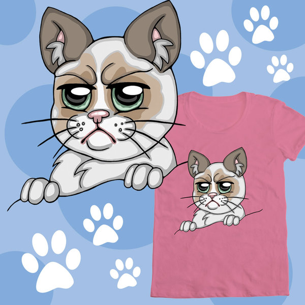 Grumpy Cat Shirt Contest