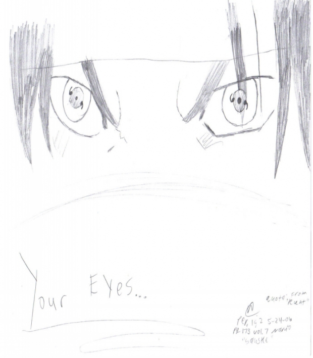 Sasuke's Eyes