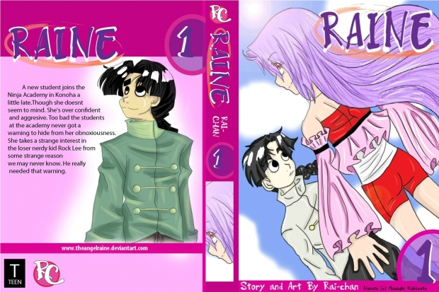 Raine Vol 1 Cover Spread
