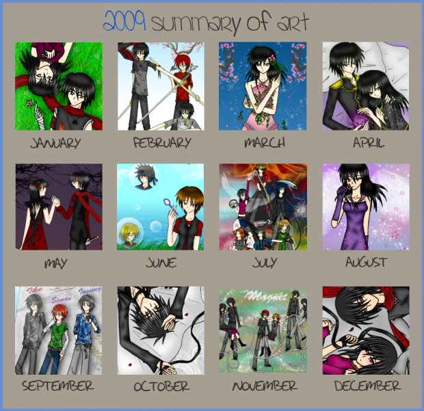 2009 Art Summary