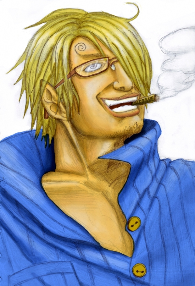 Sanji in the older days
