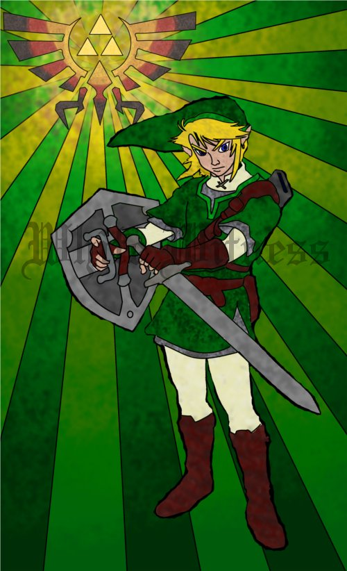 Link-Stained Glass