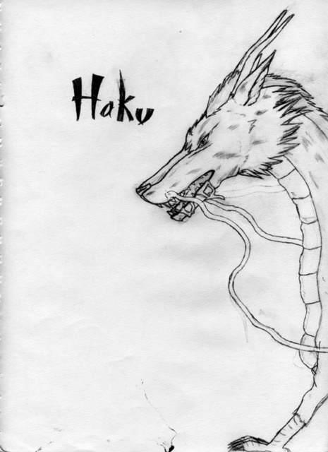 Haku's Dragon Form