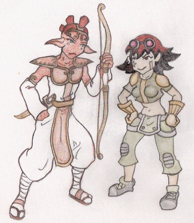 Prince Aikka And Molly Racer