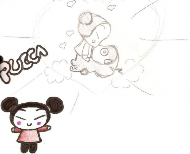 Pucca And Garu=kissy Face