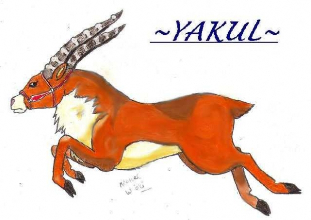 Leaping Yakul by roach