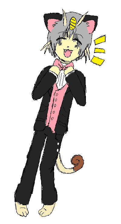 Nyarth in Valentines' Tux