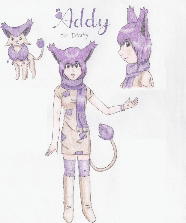 Addy the Delcatty!~