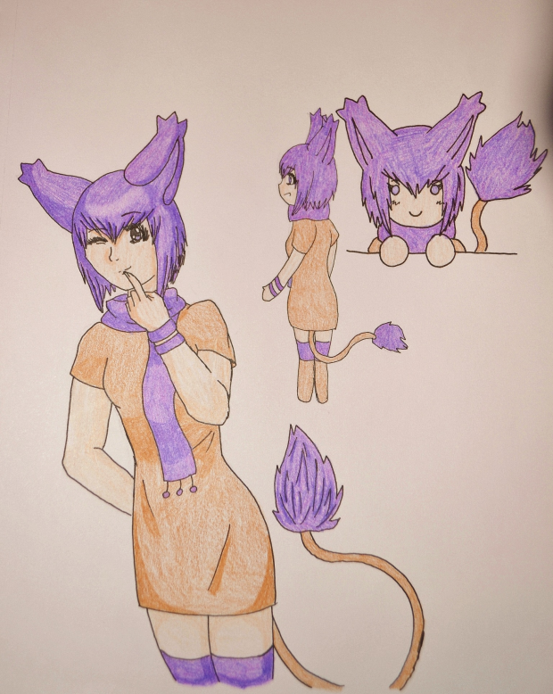 Addy Sketches (colored)