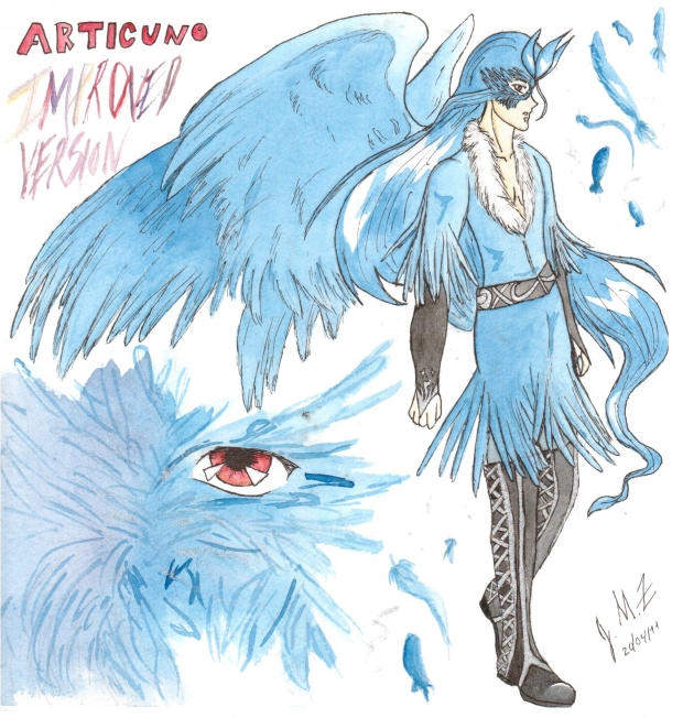 improved articuno