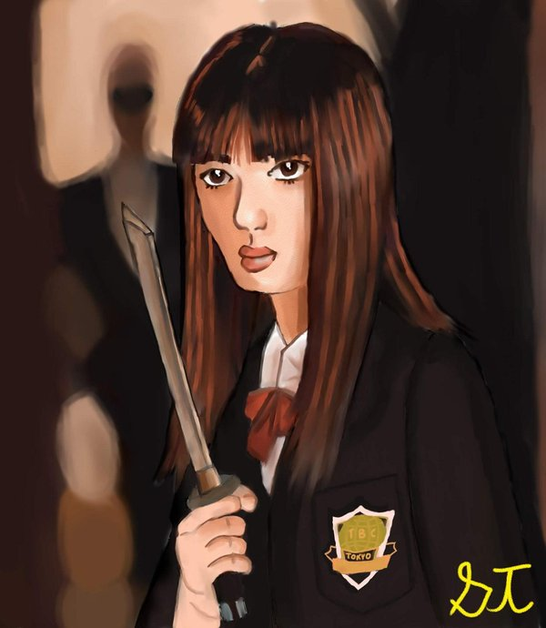 Gogo Yubari- Kill Bill