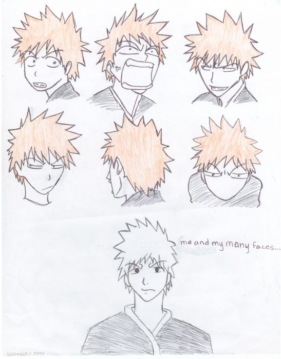 Ichigo And His Many Faces