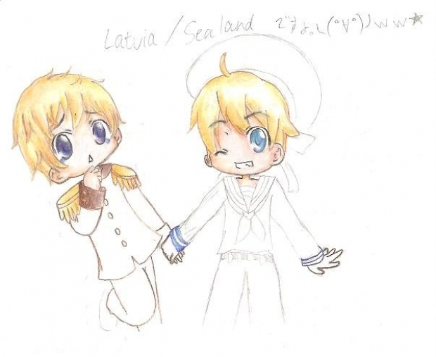 Latvia and Sealand in Progress