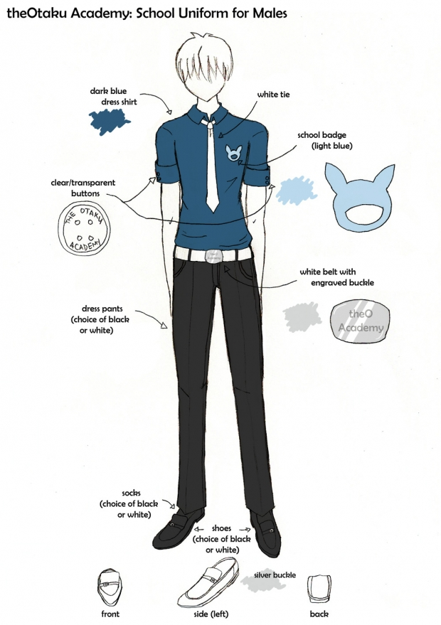 theO Academy Uniform for Males