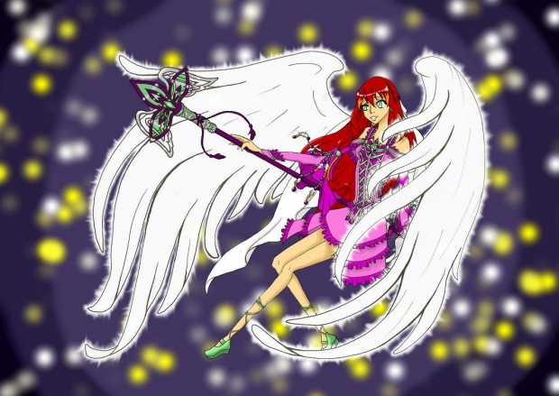 Hime angel form colored