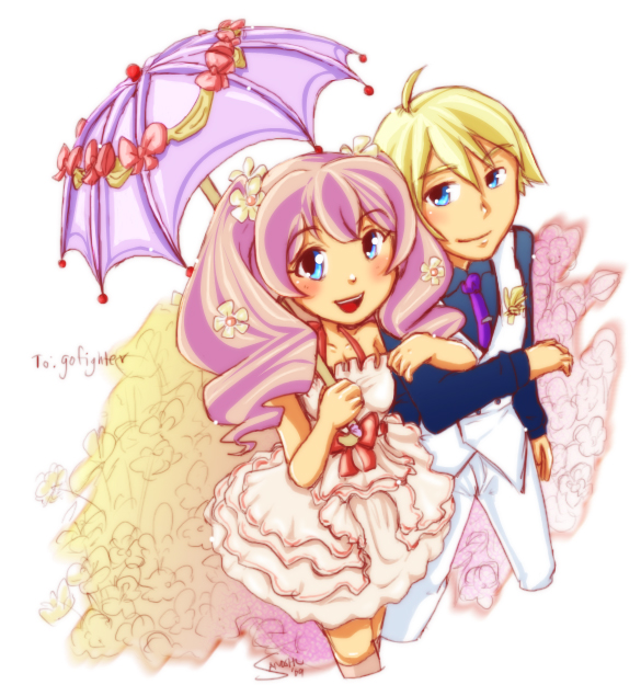 Harvest Moon ToT - Luna and Gill