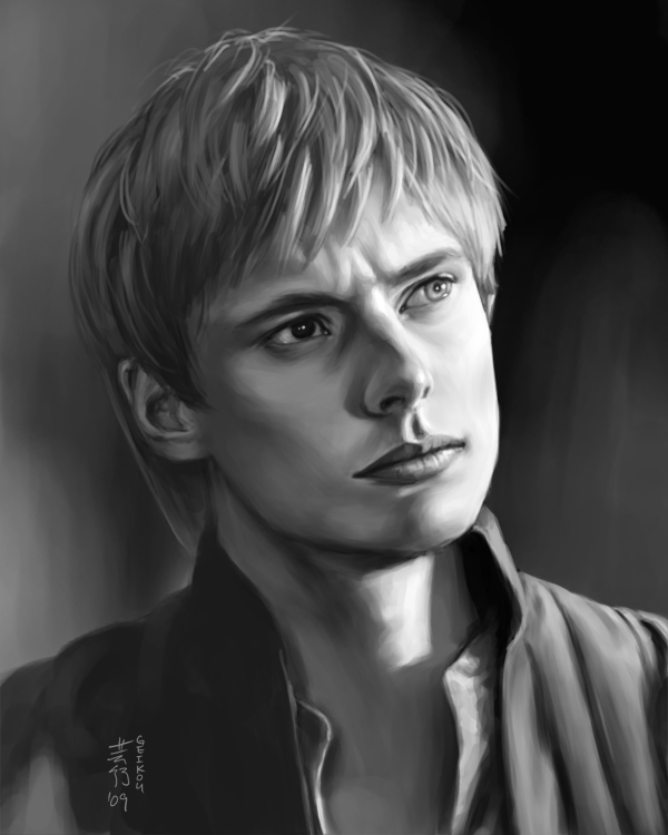 Portrait Practice 4 - Bradley James