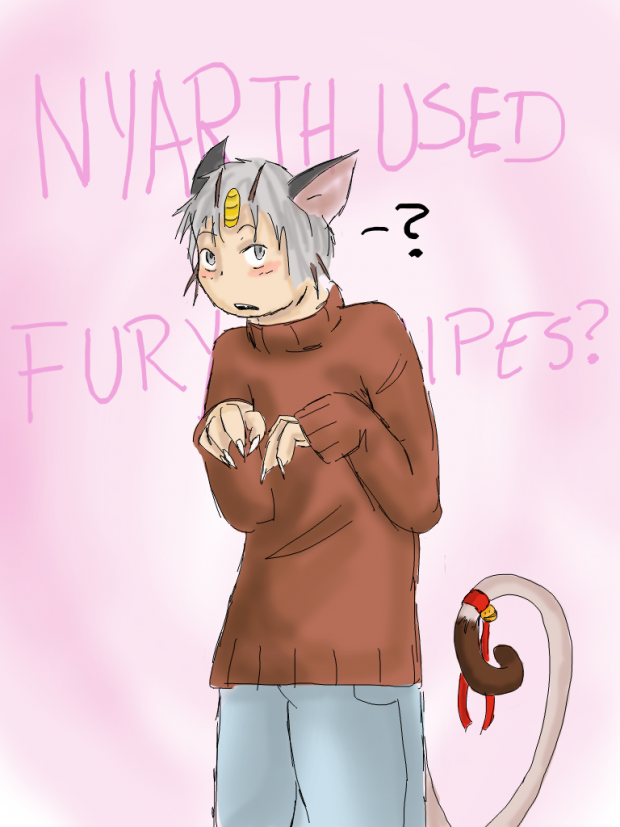 Nyarth Used Fury Swipes...?