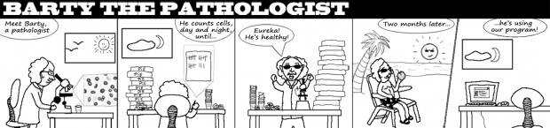 Barty the pathologist