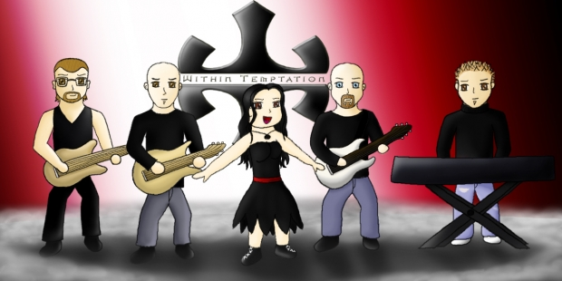 Within Temptation - chibis