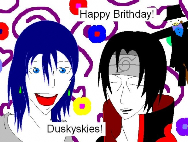 Duskyskies' Gift and Request!
