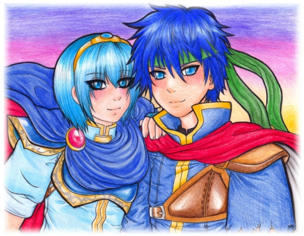 Marth and Ike