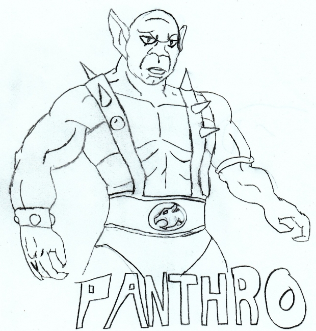 Panthro uncolored