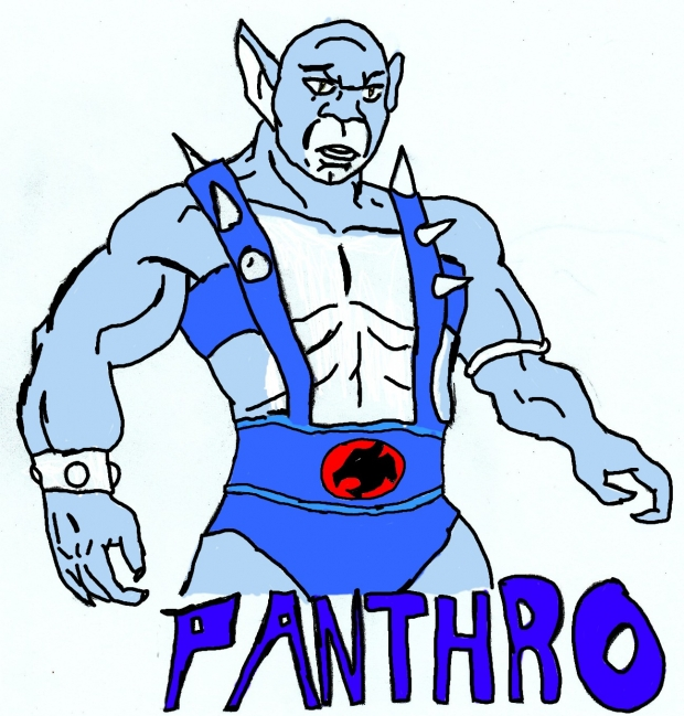 Panthro colored