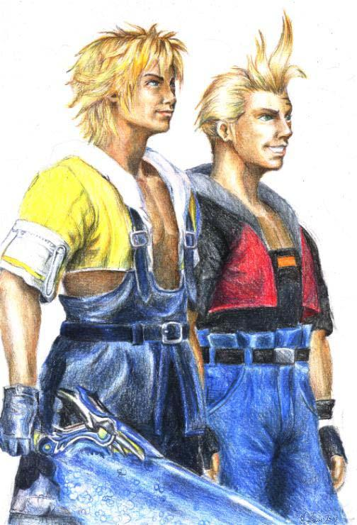 Tidus And Zell