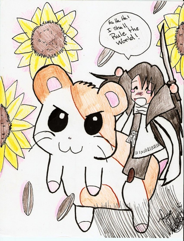 OMG it's HAMTARO?!!!!