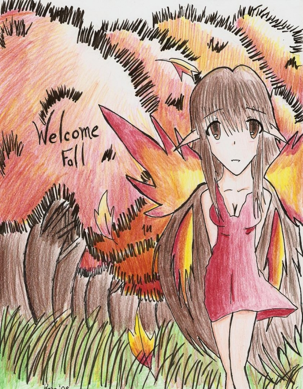 Welcome Fall ~ Fairy