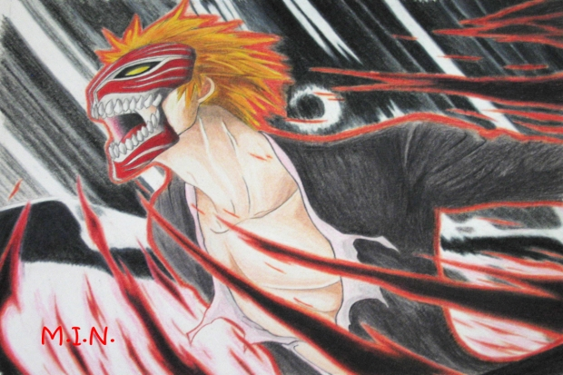 ichigo hollow transformation