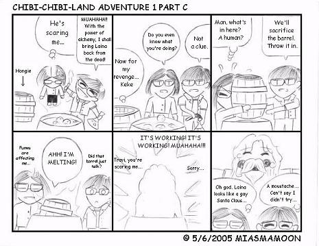 Chibi Chibi Land Adv. 1 Part C