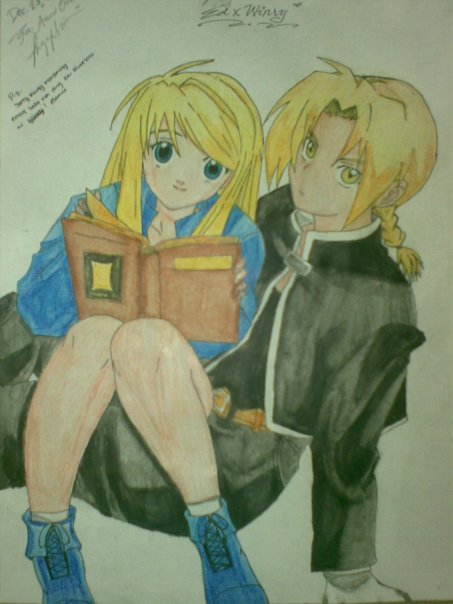 ed and winry 2