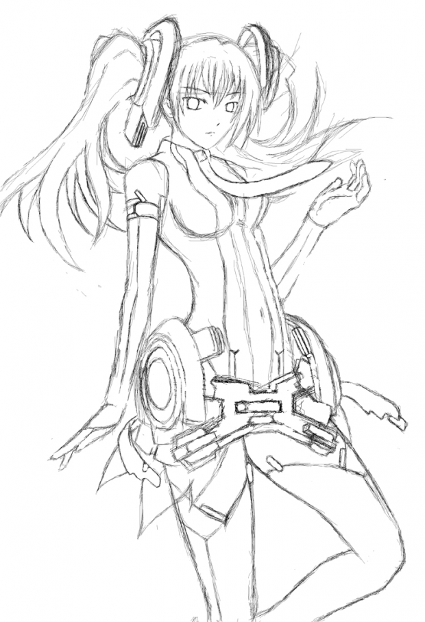 Miku Append sketch