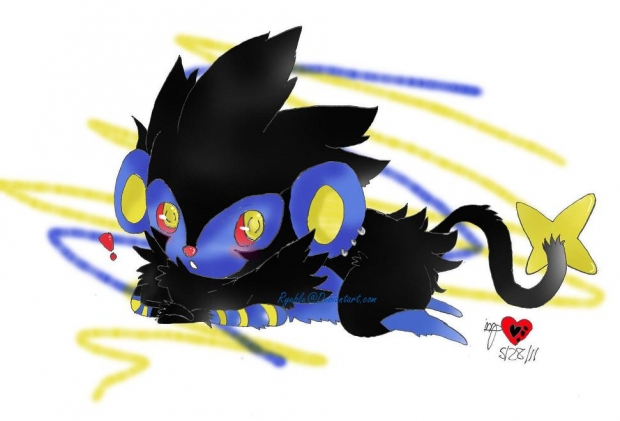 Lounging Luxray of Lurv