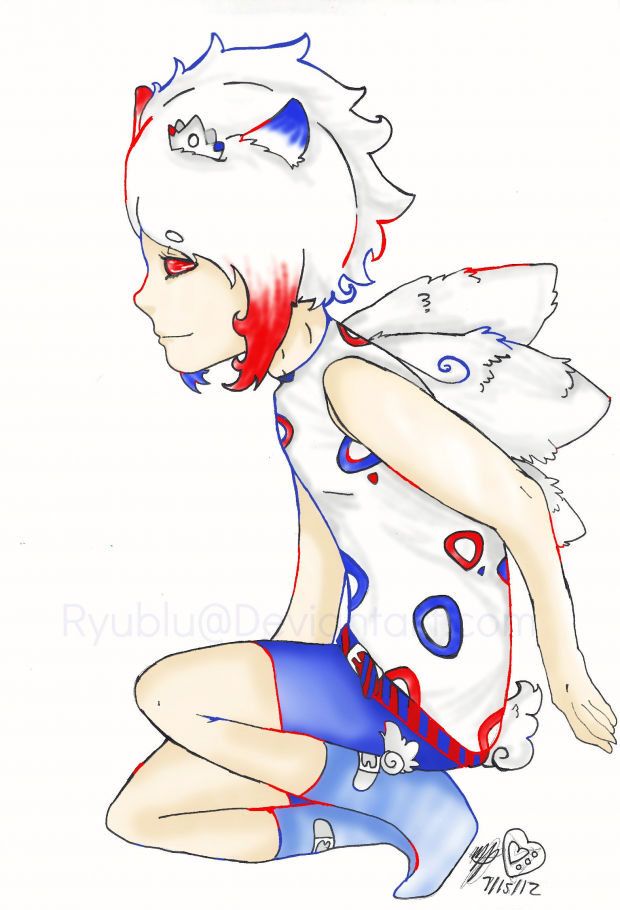 Togekiss Gijinka  Revisited 2