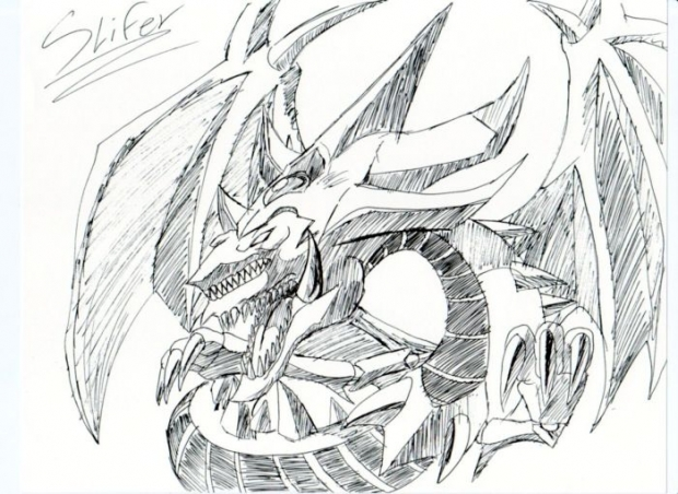 Yu Gi Oh Slifer The Sky Dragon Coloring Pages Coloring Pages