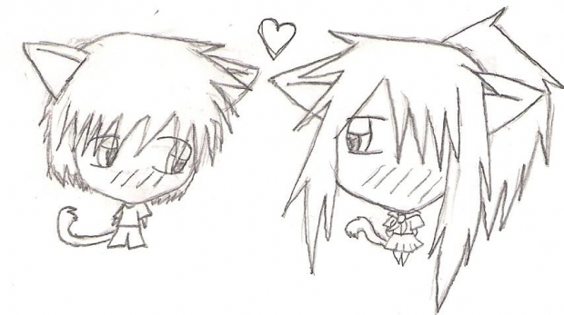 Chibi Neko and Niya