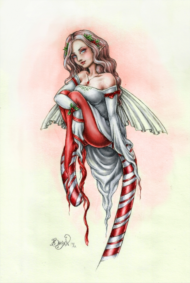 Candy Cane Faery
